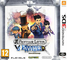 Professor Layton vs. Phoenix Wright: Ace Attorney [Nintendo 3DS / 2DS Game]