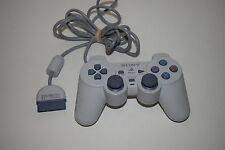 ORIGINAL Sony PLAYSTATION 1 PS1 PSOne CONTROLLER SCPH-110 DualShock White
