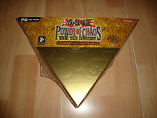 YU-GI-OH! POWER OF CHAOS YUGI THE DESTINY LIMITED COLLECTOR'S EDITION PC NUEVO