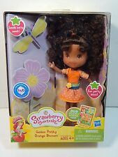 "Strawberry Shortcake Garden Pretty Orange Blossom 6"" Doll Scented New"