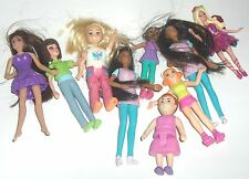 assortment of mini dolls  -  some are mcdonalds - fun to play with  (dollhouse)