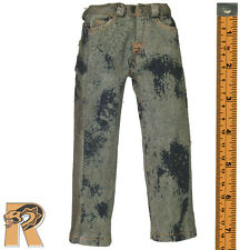 onesixth Jeans - Blue Jeans Pants Acid Wash #3 1/6 Scale Armoury Action Figures