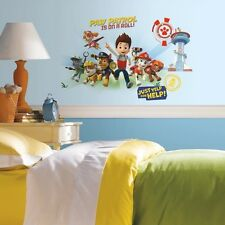 Giant Paw Patrol GRAPHIX Mural Wall Decals Zuma Rocky Skye Chase Marshall Rubble
