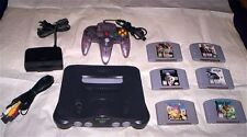 N64 System lot - Great Console and 6 Classic Nintendo 64 Games