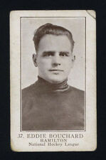 1923-24 V145-1 WILLIAM PATERSON ~ #37 ~ EDDIE BOUCHARD ~ ROOKIE CARD