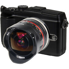 Ultra Wide Mirrorless Fisheye Lens 8mm f/2.8 for Fuji X-E1, X-M1 & X-Pro1