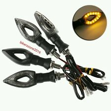 4x Yellow Bike Motorcycle Led Smd Indicators Turn Signal Lights Bajaj Pulsar 150