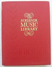 Scribner Music Library Vol 9 Piano Works Concert Songs Others HB