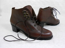 Bottines à lacet boots lace ups botas stivali stiefelletten cuir leather 38