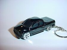 NEW 3D BLACK DODGE RAM 1500 CUSTOM KEYCHAIN KEY keyring mopar TRUCK backpack