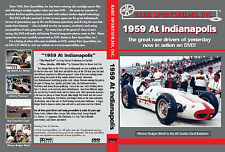 1959 Indy 500-Mile Race, Rodger Ward now in color on DVD!