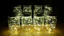 8 Fairy Jar Lights Christmas Warm White Wedding Party Decor Outdoor string light