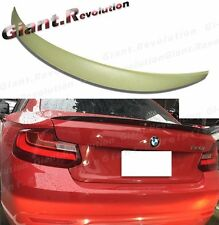 Unpainted Performance Trunk Boot Spoiler For BMW 2014+ F22 220i 228i 235i Coupe