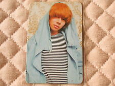 (ver. Heechul) Super Junior 4th Album BONAMANA Photocard TYPE A