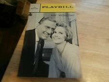 Vintage Playbill Program Any Wednesday 1965 The Music Box NYC Barbara Cook