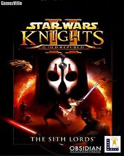STAR WARS Knights of the Old Republic 2 II The Sith Lords Steam Key PC Code