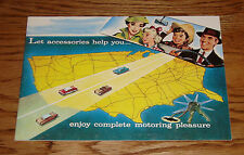 1957 Chevrolet Accessories Sales Brochure 57 Chevy Bel Air