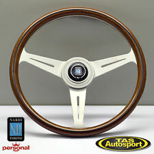 Nardi Steering Wheel ND CLASSIC WOOD Grain White Spokes 360mm 5061.36.1000