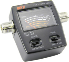 NISSEI  RS-40  for VHF UHF 200W SWR Power meter