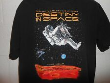 2001 Destiny In Space Imax Smithsonian National Air Space Museum T-Shirt Large