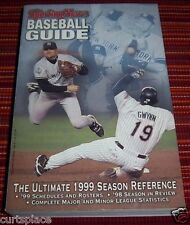 The Sporting News BASEBALL GUIDE The Ultimate 1999 Season Reference, FAST Ship!