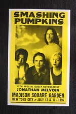 Smashing Pumpkins 1996 tour poster New Yoork city