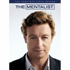 THE MENTALIST COMPLETE SERIES 5 DVD Box Set Season New Sealed 5th Fifth UK