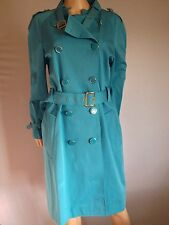 French Connection £160 Mister Magic Belted Coat Blue Size 14 Bb20 New Womens