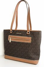 Michael Kors Tasche/Bag Frame Out Item LG NS Tote Braun  NEU