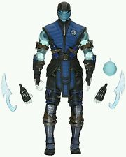Mortal Kombat X Sub-Zero ICE VERSION 6-Inch Action Figure Previews Exclusive
