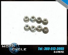 YAMAHA FZ1 FZ 1000 FZ-1 FZ1000 2008 08 09 10 EXHAUST HEADER MOUNT NUTS NUT Y31