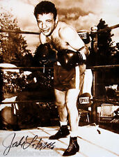 JAKE LaMOTTA-Autographed 8x10 Picture-Boxing Hall Of Fame-Raging Bull
