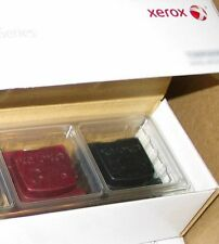 AUTHENTIC GENUINE MAGENTA & BLACK SOLID INK STICKS FOR XEROX COLORQUBE 8570/8870