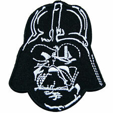 Star Wars Darth Vader Head Episode Movies Classic Cartoon Iron On Patches #M039
