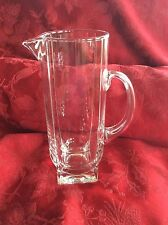 Exceptional RARE 1980's HOYA Japan Crystal MARTINI PITCHER DECANTER