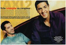 Coupure de presse Clipping 2000 (6 pages) Film Taxi 2 Samy Naceri Diefenthal