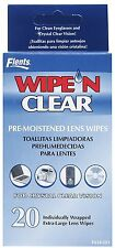 Wipe'n Clear Lens Cleaner Tissue 20ct