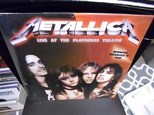 METALLICA Live At The Playhouse 1986 2x LP NEW vinyl