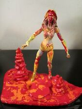 ABSTRACT custom hand painted figure and base by artist musk yai marvel female~