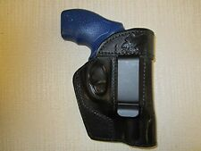 Taurus 85 - 38 special,IWB,OWB,SOB, AMBIDEXTROUS formed leather revolver holster