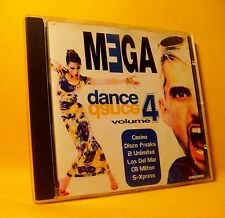 CD Mega Dance Volume 4 Compilation 20TR 1996 Euro House
