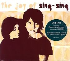SING-SING The Joy Of CD NEW SEALED PROMO ALTERNATIVE INDIE ROCK LUSH