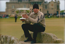 Stephen GALLACHER SIGNED Autograph 12x8 Photo AFTAL COA European Tour Winner
