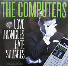 COMPUTERS LP Love Triangles, Hate Squares COLOURED Vinyl No.d + Pos +Mp3 + Pro