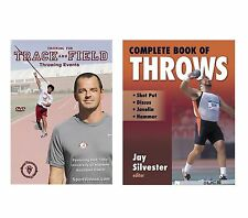 Complete Book of Throws Book and Throwing Events DVD - Shot Put, Discus, Javelin