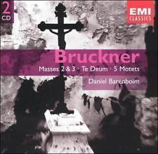 Bruckner: Masses #2 & 3, Te Deum,  5 Motets, New Music
