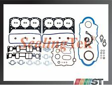 96-06 GM 4300 Vortec OHV V6 Engine Full Gasket Set seal kit 4.3L CPI 262ci motor