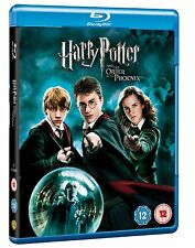 HARRY POTTER AND THE ORDER OF PHOENIX YEAR 5 BLU RAY Brand New and Sealed UK