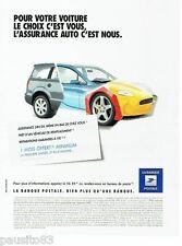 PUBLICITE ADVERTISING 106  2012  la Banque Postale    assurance auto