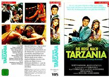 "VHS - "" The Trip after TARZANIA ( Options ) (1988) Matt Salinger - Joanna Pacula"